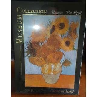 Jigsaw Puzzle - 1,000 Pieces - Sunflowers by Vincent Van Gogh