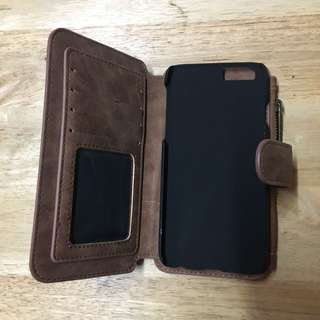 Leather Flip Cover/iPhone 6/6s Wallet