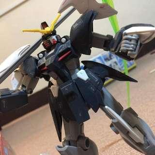 1/144 High Grade Gundam Deathscy the Hell Custom with free  Gundam D-Hell