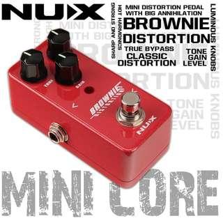 🚚 NUX Brownie Distortion 破音效果器