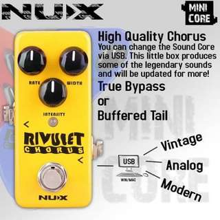 🚚 NUX Rivulet Chorus 效果器