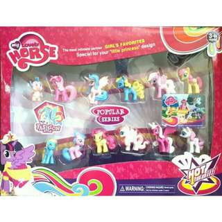 My Little Pony - My Lovely Horse 12 Pcs