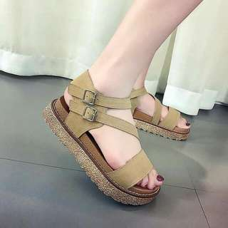 Women Suede Sandals
