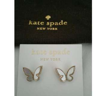 Kate Spade Butterfly Earrings