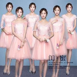 (PO) Korean Bridesmaids Dress