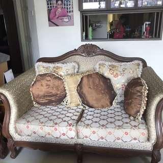 Two Classical Sofa Set