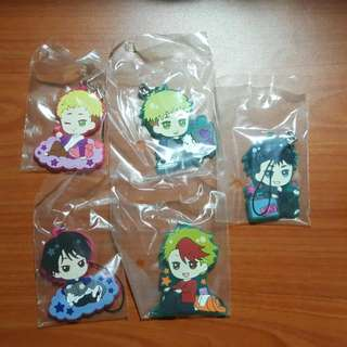 Yuri On Ice Sweet Time/Enjoy Your Trip Kuji Straps