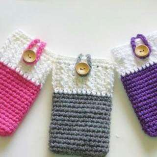 Crocheted Phone Case