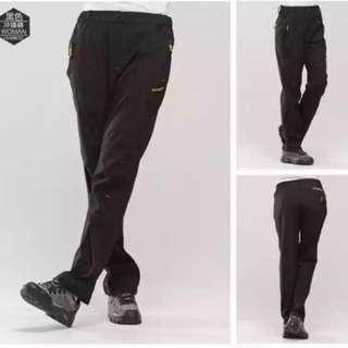 BNIB Waterproof Hiking Pants (Black)