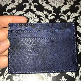 Snake Skin Wallet Card