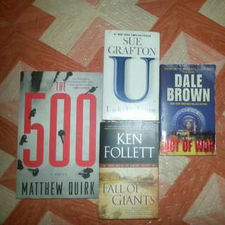 Preloved Young-Adult Books