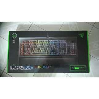 Razor Black Widow Chroma V2 (Sealed)