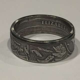 Heart Of Our Nation Coin Ring