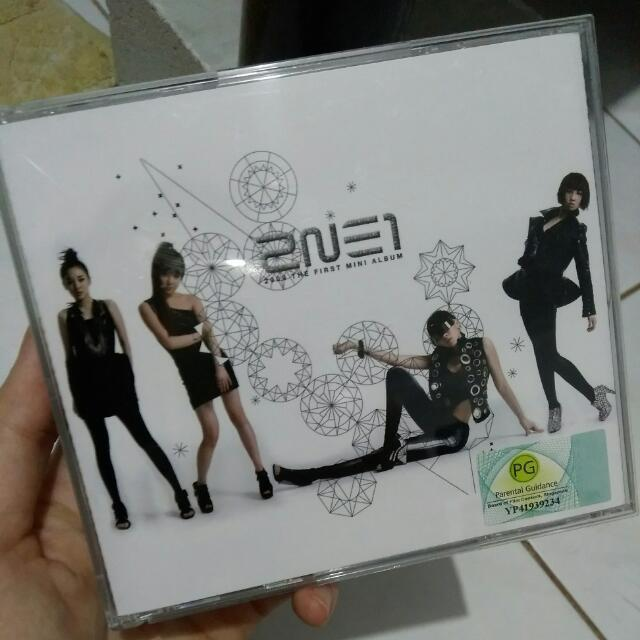 2NE1 FIRST MINI ALBUM