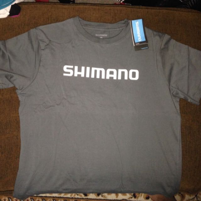 c2f9928ab59 2XL Shimano Grey Tuna Tee Shirt, Men's Fashion, Clothes on Carousell