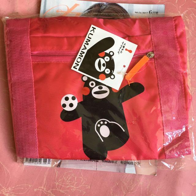 熊本熊休閒旅行袋