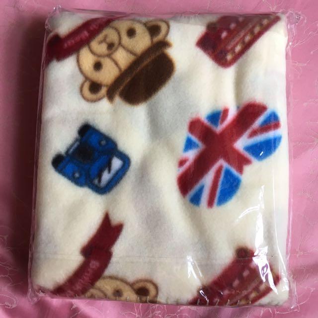 英國熊飛機毯