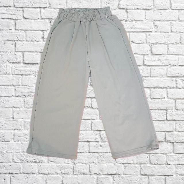 西裝 雪紡 八分寬褲