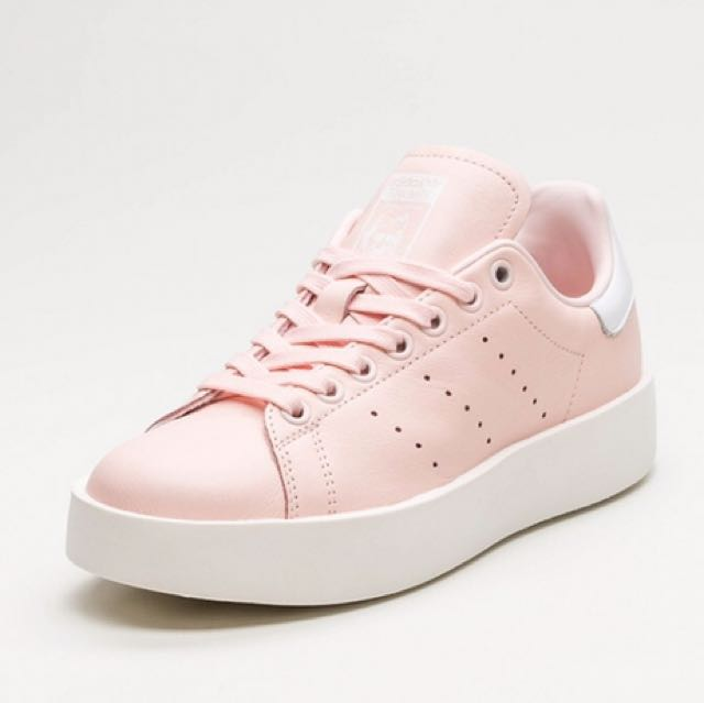 adidas stan smith bold rose