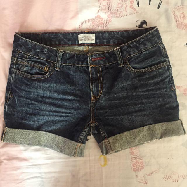 Aeropostale Denim Shorts