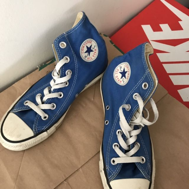 ALL STAR 中筒平底鞋