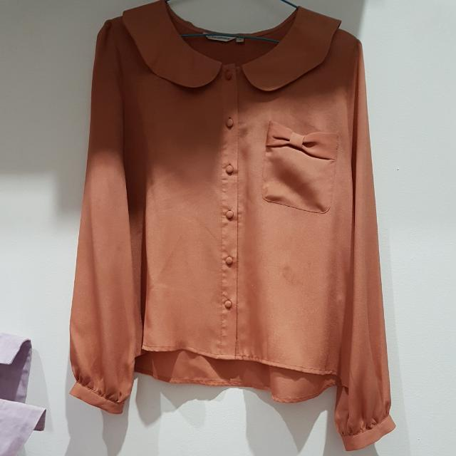 Atasan Blouse Atmosphere Salem/krem