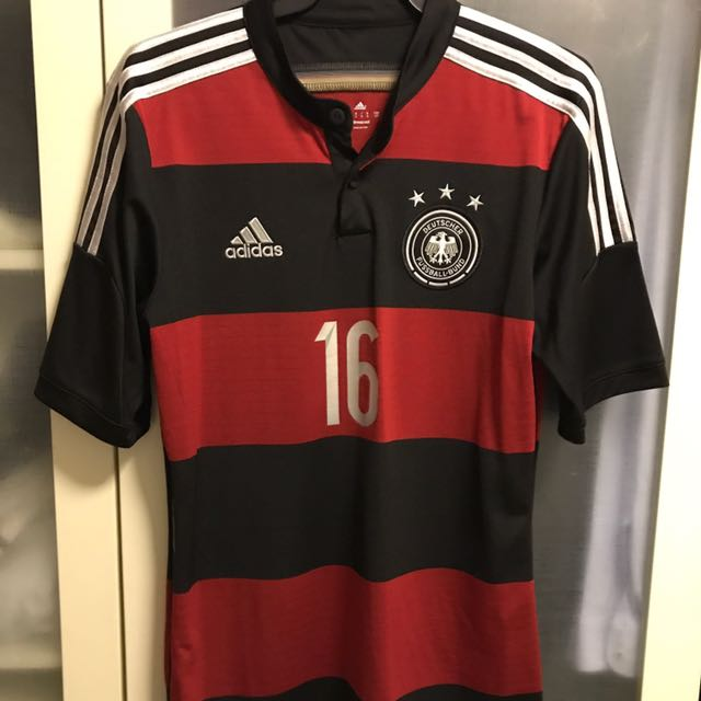 5e1e621ab AUTHENTIC 2014 Germany World Cup Away Kit, Sports, Sports Apparel on ...