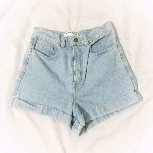 Authentic American Apparel High Waist shorts