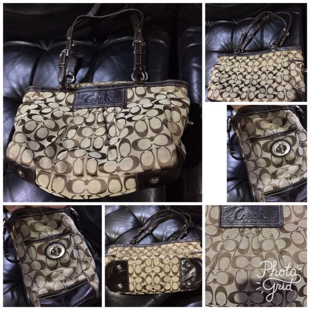 authentic coach handbag small size from 1200 to 800 repriced!