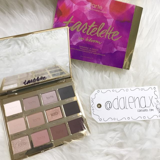 AUTHENTIC Tartelette In Bloom Clay Palette