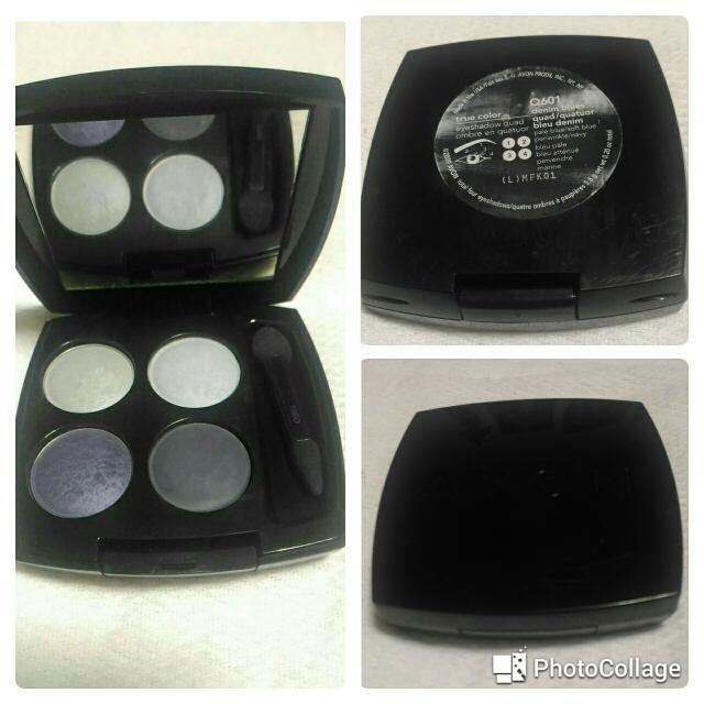 Avon True Color Eyeshadow Quad (DENIM BLUES)