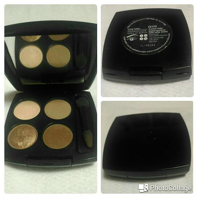 Avon True Color Eyeshadow Quad (MOCHA LATTE)