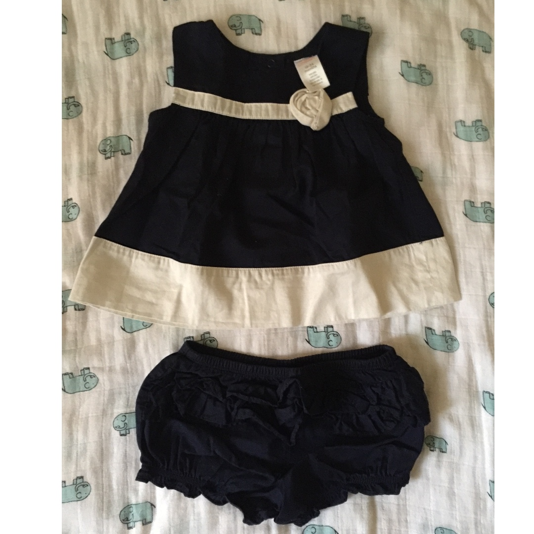 Baby Girl Dress Top with shorts