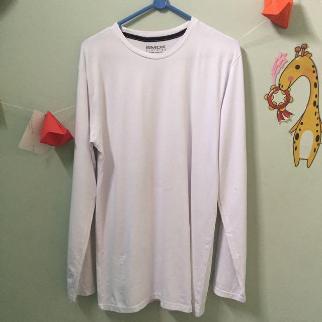 Baju Putih Polos Smok