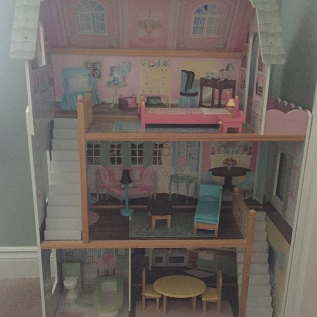 KidKraft Doll House, Furniture And Dolls