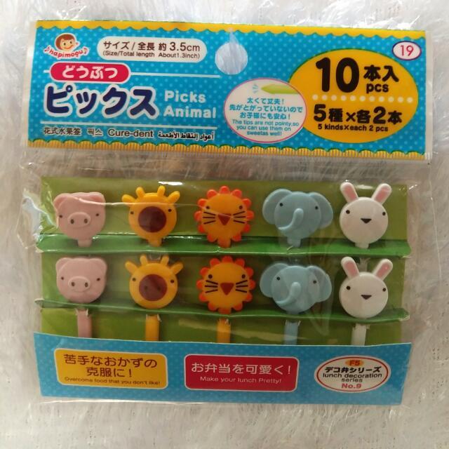 Bento Food Picks (Animal)