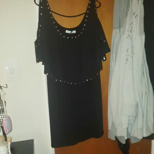 Black , Paper Scissors Dress