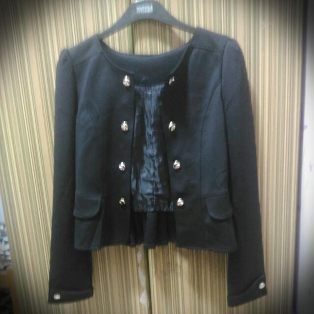 Black Korean Blazer