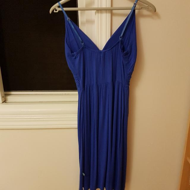 Blue Dress With Straps