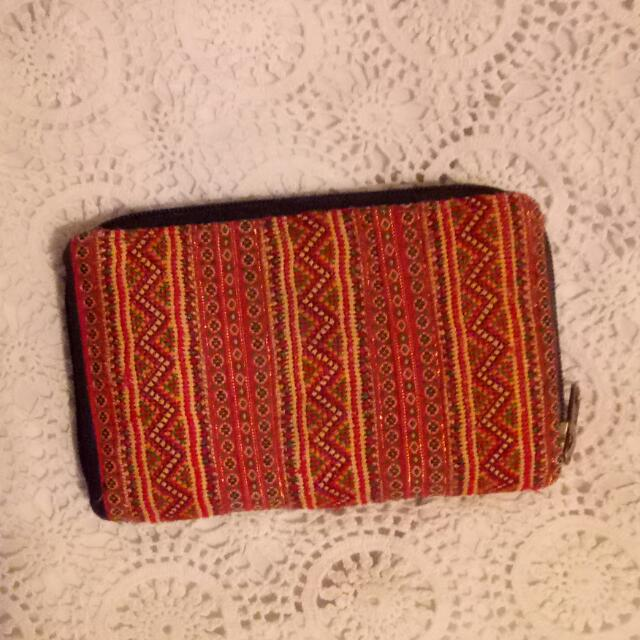 BOHO AZTEC PURSE WALLET