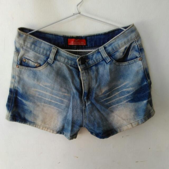 [Bongkar Lemari] Hotpants Denim Jeans Washed