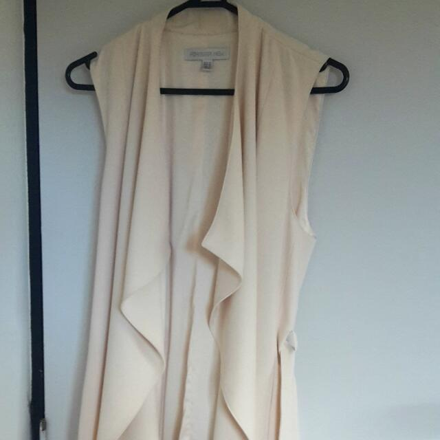 Brand New, Forever New Porcelain Coloured Duster Coat.