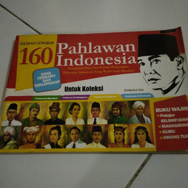Buku 160 Pahlawan Indonesia