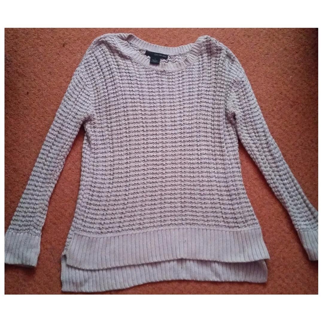 Calvin Klein Grey Knit Sweater (size M)