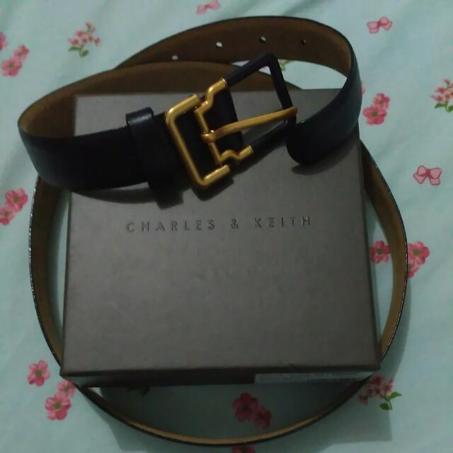 Charles & Keith Leather Belt