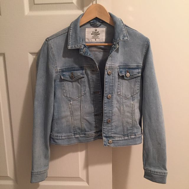 Cheap Monday Denim Jacket Size Small