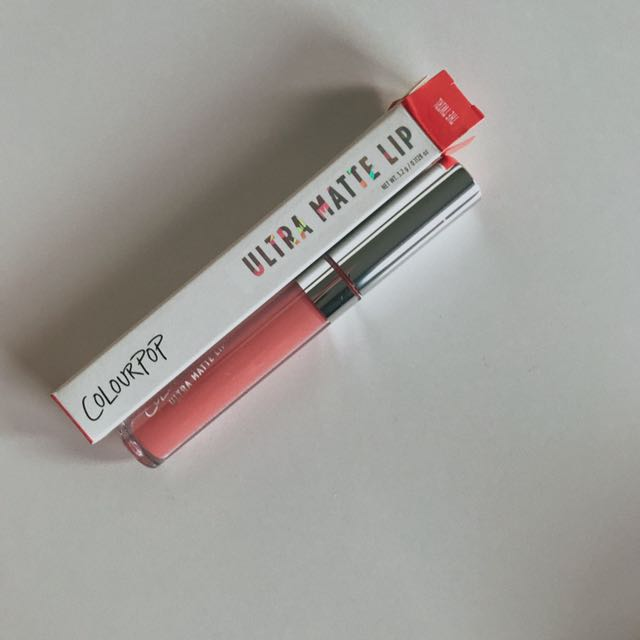 colourpop the twirl ultra matte lip