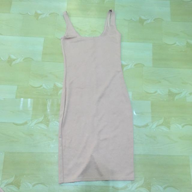 Cotton Bodycon Dress