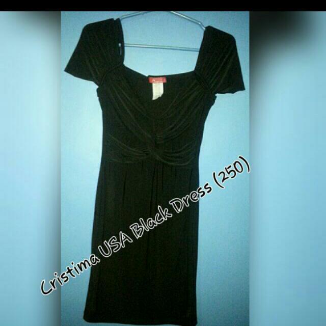 Cristima Black dress