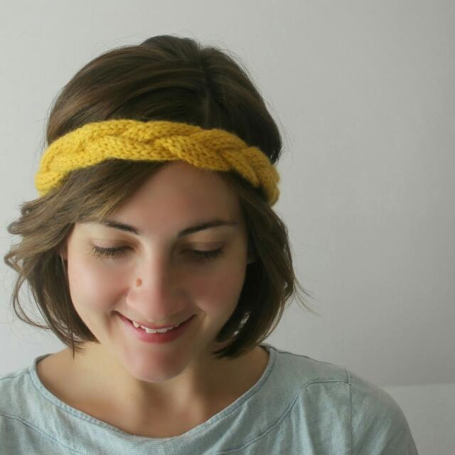Crocheted Braided Turban/Headband